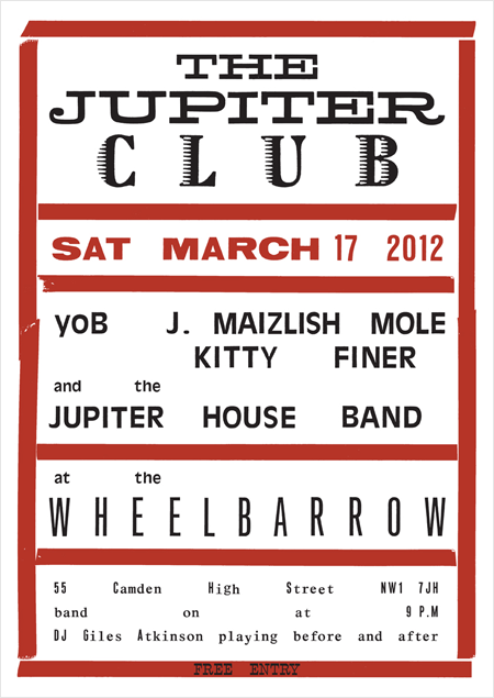The Jupiter Club - 17 March 2012