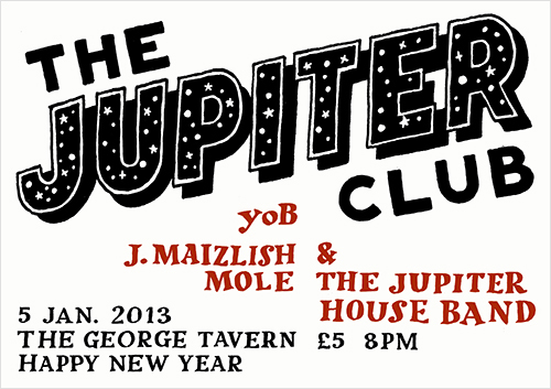 The Jupiter Club - 5 January 2013