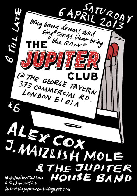 The Jupiter Club - 6 April 2013